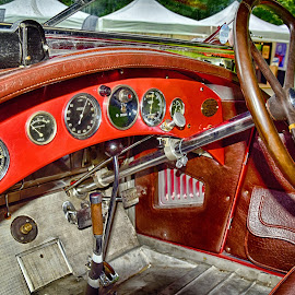 Vintage Cockpit by Marco Bertamé - Transportation Automobiles (  )