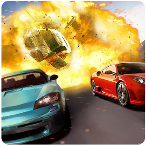 Furious mad car racing