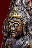 พระพุทธชินราช รุ่นอินโดจีน พิมพ์สังฆาฏิสั้น หน้าพระประธาน(แต่งใหม่)