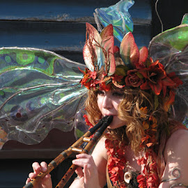 Twig the Fairy by Neil Donahue - People Musicians & Entertainers ( music, flute, arizona, fairy )