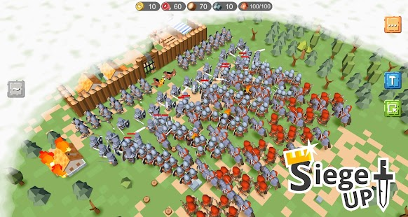 RTS Siege Up! - Medieval Warfare Strategy Offline for pc