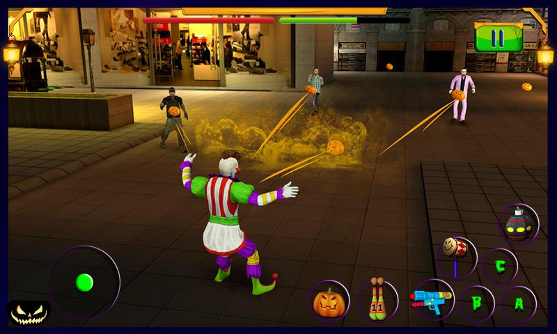 Scary Clown : Halloween Night Screenshot