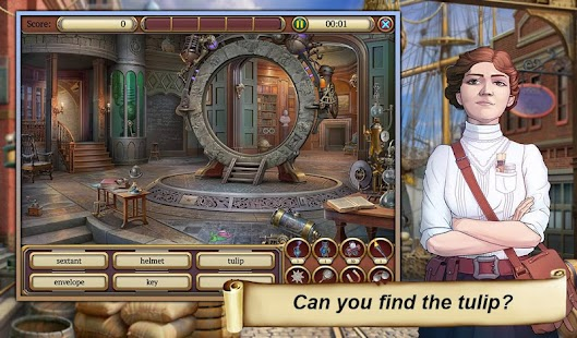 7 Hidden Object Time Crimes Case App screenshot