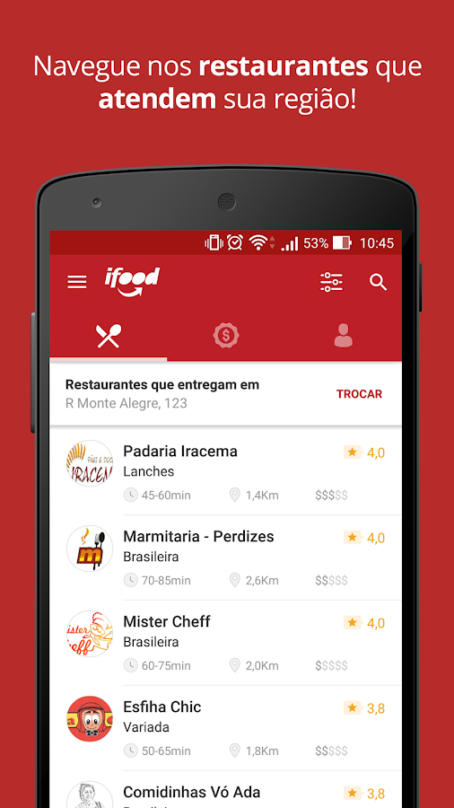 iFood - Delivery de Comida Screenshot 1