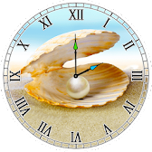 Pearl Analog Clock APK Icon