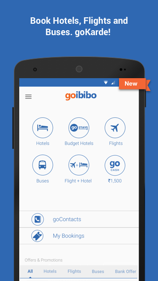Goibibo: Book Hotel Flight Bus Screenshot 0