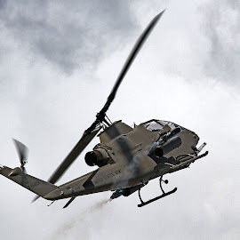 AH-1 Cobra at the 2015 Tico Airshow by Jim Baker - Transportation Airplanes