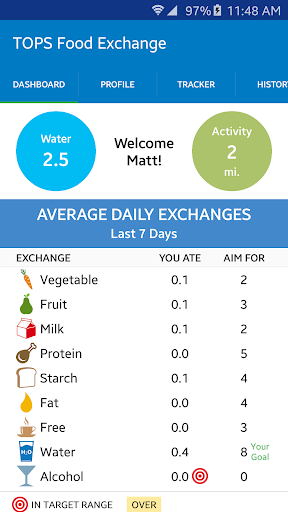 TOPS Food Exchange Tracker For PC