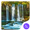 waterfall nature scene theme APK for Bluestacks