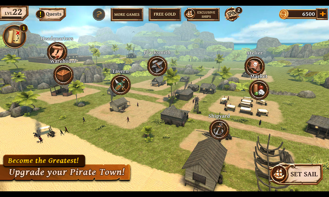 Ships of Battle Age of Pirates Screenshot 2