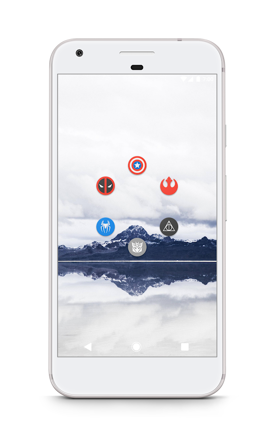 KAIP - Material Icon Pack Screenshot 3