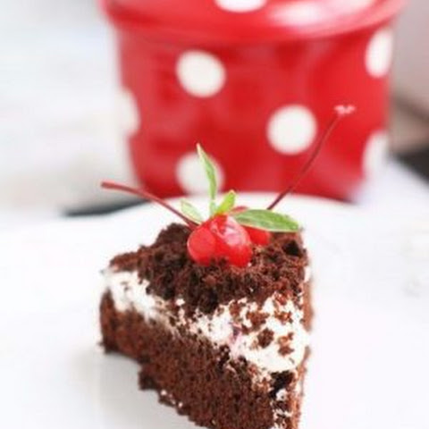 Chocolate Cake With Coffee And Sour Cream