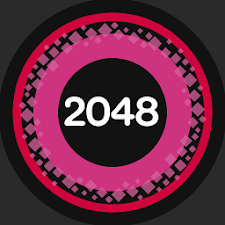 2048 RAINBOW COLOR CIRCLE GAME