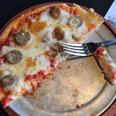 Gf pizza with sweet sausage