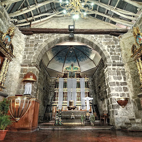 The Altar of Baras Church by Rman Alfred Lorenzo - Buildings & Architecture Places of Worship ( baras church, the magnifico photography, church photography, rman lorenzo, baroque church of the philippines )
