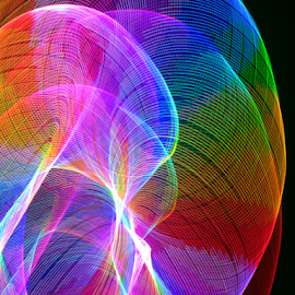 Shades of color by Jim Barton - Abstract Patterns ( laser light, colorful, light design, color, laser design, laser, shades of color, laser light show, light, science )
