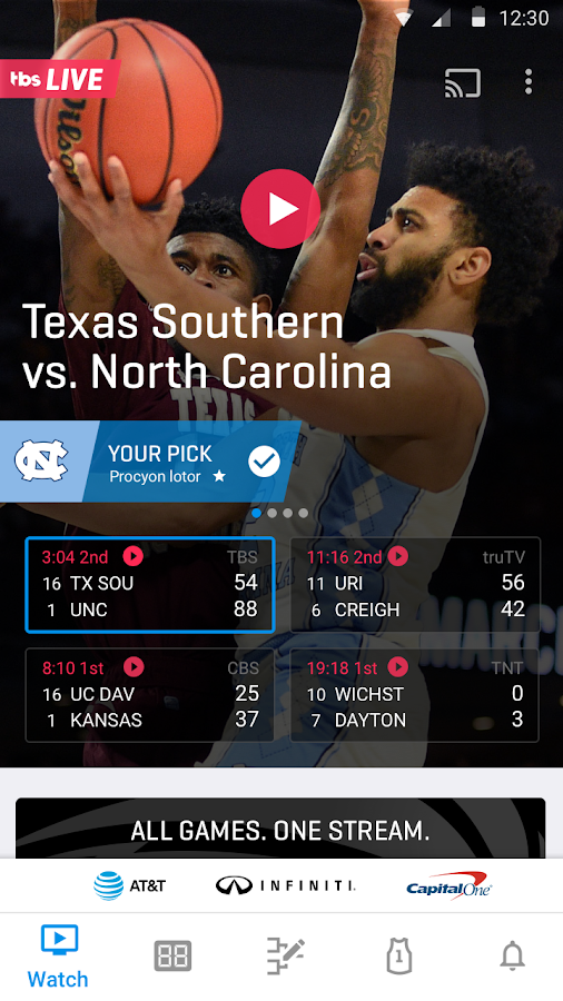 NCAA March Madness Live  Poster