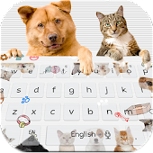 Free Download Cute Cat Dog Keyboard APK for Samsung