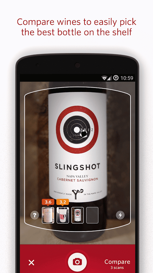 Vivino Wine Scanner Screenshot 3