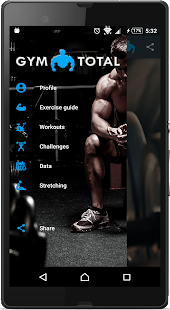 Gym Fitness & Workout : Personal trainer PRO Fitness app screenshot for Android