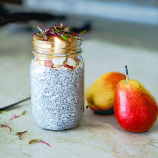 Pear Chia Seed Pudding