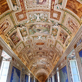 Spectacular! Through the Vatican City  by Di Mc - Buildings & Architecture Places of Worship ( ceiling, art, artists, painting, murals, vatican, architecture )