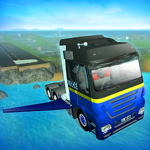 Cover art Game of Flying: Police Truck