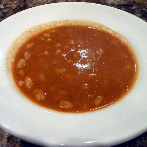 SWEET PEPPER AND WHITE BEAN SOUP
