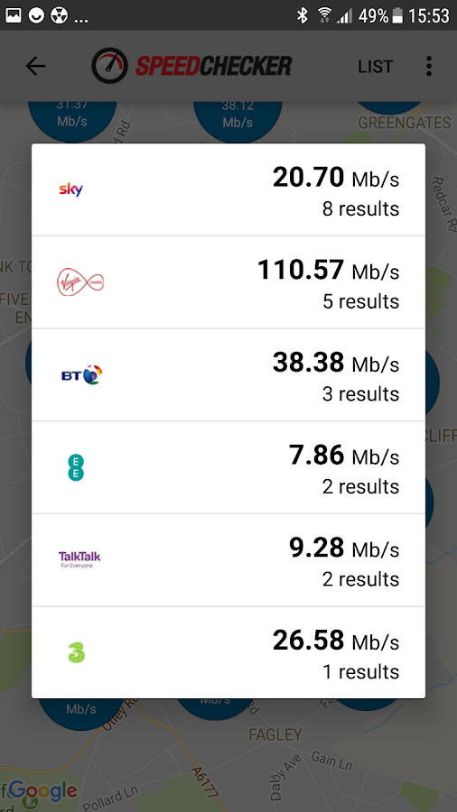 Internet Speed Test 4G, 3G, LTE, Wifi, GPRS Screenshot 4