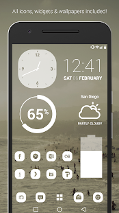 Pasty - Clean White Flat Theme- screenshot thumbnail