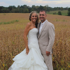 Happily Married   by Michelle Brush - Wedding Bride & Groom