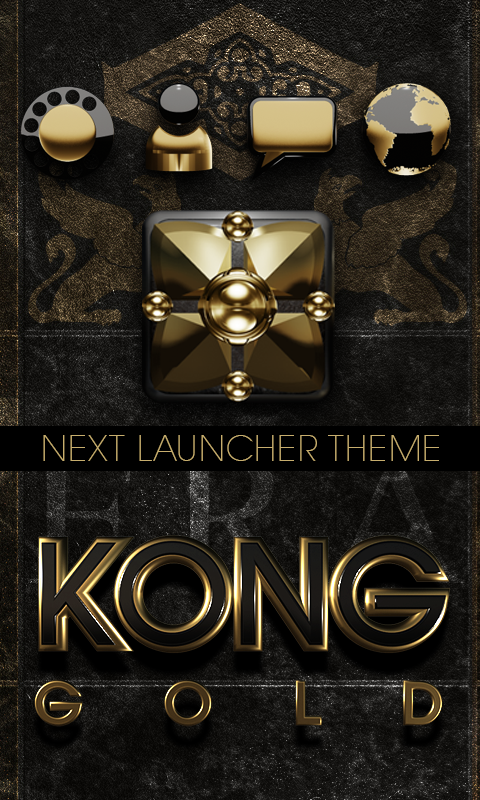 KONG Next Launcher theme Screenshot 0