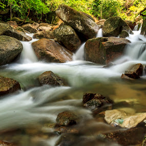 waterfall by Kelvin Zyteng - Landscapes Waterscapes ( , garyfonglandscapes, holiday photo contest, photocontest, long, exposure, daytime, edition, challenge )