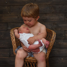 Brothers by Piotr Owczarzak - Babies & Children Children Candids ( boys, kids, cute, newborn )