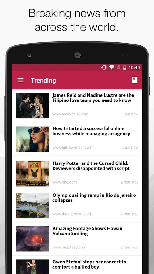 FeedNews: AI curated news app Screenshot 1