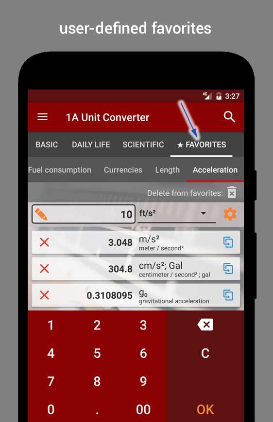 1A Unit Converter pro Screenshot 4