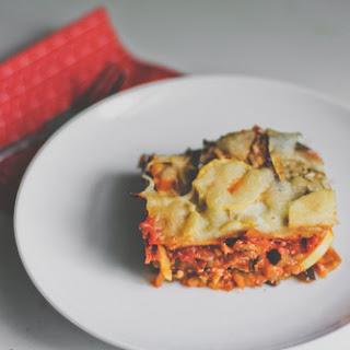 Eggplant Lasagna Italian Sausage Recipes