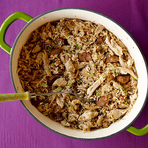 Cajun-Style Chicken and Sausage Jambalaya