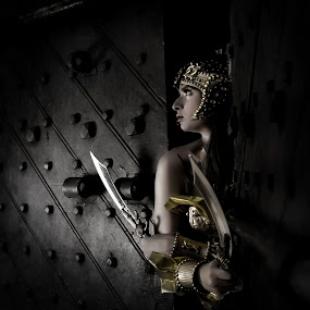 Warrior Princess by Mark Nokom - People Portraits of Women