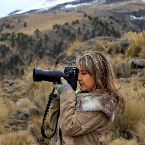 Photographer by Cristobal Garciaferro Rubio - People Portraits of Women ( mountain, lady, nikon, photogeapher )