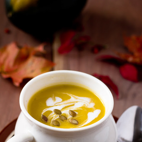 Spicy Creamy Squash Soup