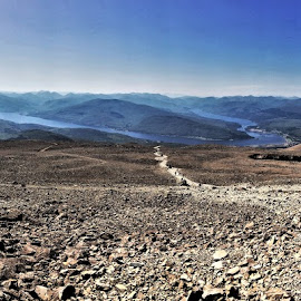 by Phil Bear - Landscapes Mountains & Hills ( mountains, hills, ben nevis, summit, scotland )