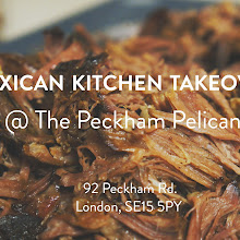 Mexican supper club / popup at the Peckham Pelican