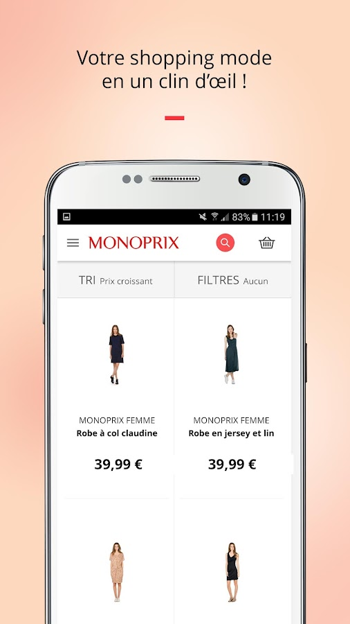 Monoprix Screenshot 3
