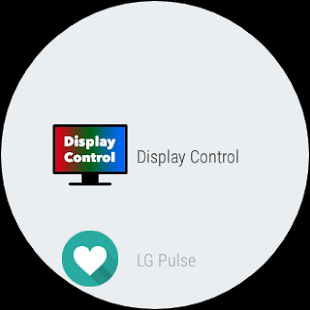 Display Control for AW