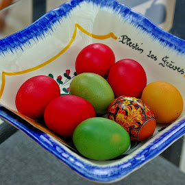 Eggs all around IV by Ciprian Apetrei - Public Holidays Easter ( eggs · easter · still life · decorations )