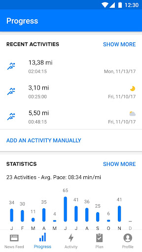 Runtastic Running & Fitness Tracker screenshot 2