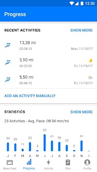 Runtastic Running & Fitness APK screenshot thumbnail 2