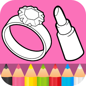 Beauty Coloring Pages For PC