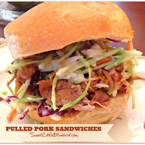 Pulled Pork Sandwiches (Crock-Pot)